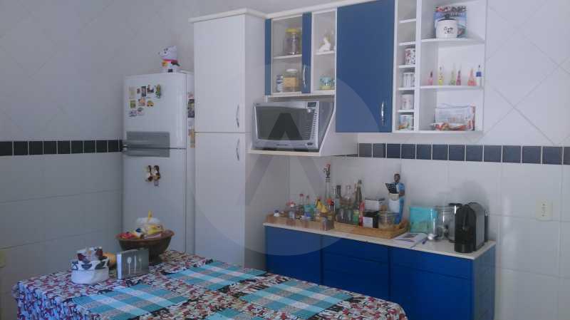 22 - Cozinha - Imobiliária Agatê Imóveis vende Casa de 289 m² Itaipu - Niterói por 480 mil reais - HTCA30035 - 23