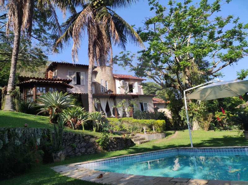 1 Casa Condomínio Itaipu. - Agatê Imóveis vende belíssima casa em condomínio de alto padrão em Itaipu - Niterói. - HTCN30118 - 1