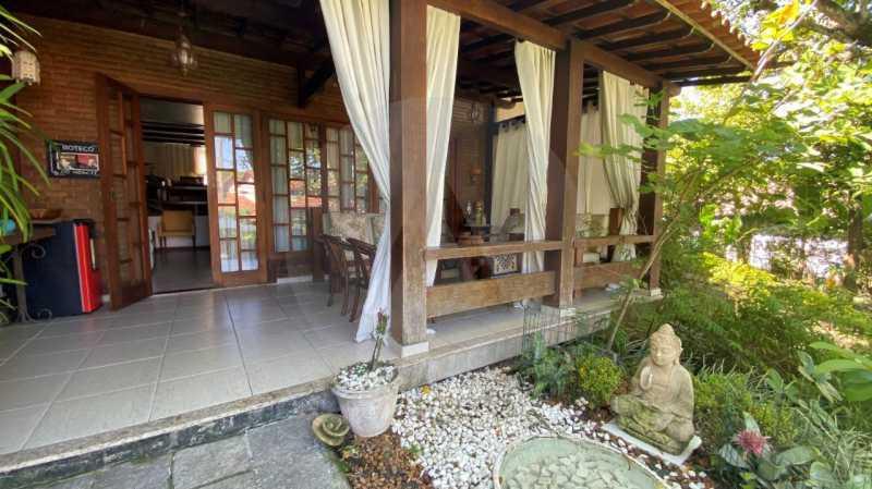 4 Casa Condomínio Itaipu. - Agatê Imóveis vende belíssima casa em condomínio de alto padrão em Itaipu - Niterói. - HTCN30118 - 5