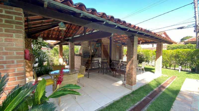 25 Casa Condomínio Itaipu. - Agatê Imóveis vende belíssima casa em condomínio de alto padrão em Itaipu - Niterói. - HTCN30118 - 26