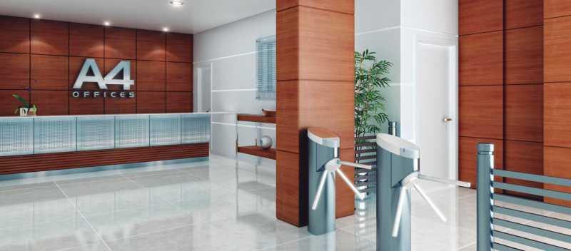 Galeria_00_A4_Recepcao-2-1360x - Fachada - A4 Office - 44 - 1