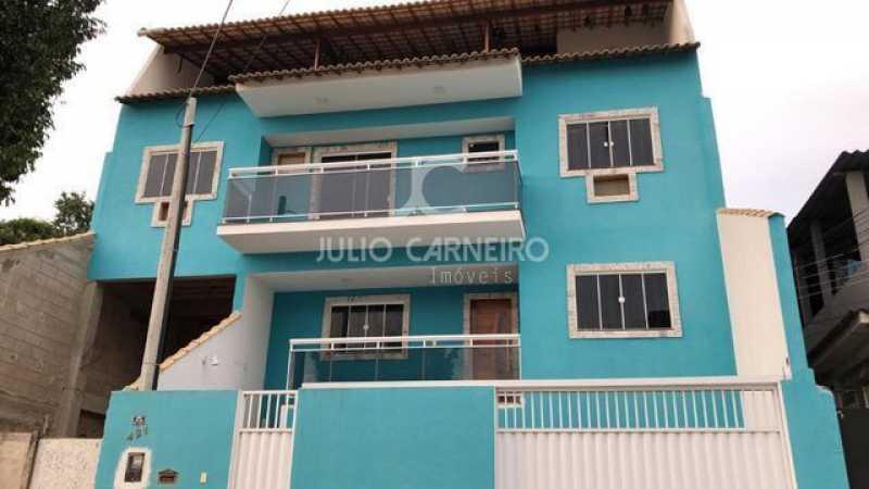 CASA AZUL VALQUEIRE FOTO 01Res - Casa 3 quartos à venda Rio de Janeiro,RJ - R$ 650.000 - JCCA30012 - 1