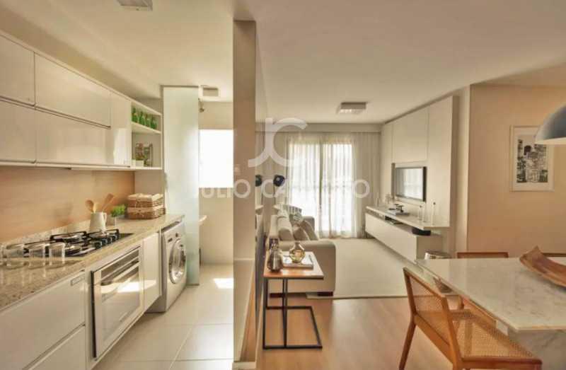 02 - Apartamento 2 quartos à venda Rio de Janeiro,RJ - R$ 367.000 - JCAP20333 - 3