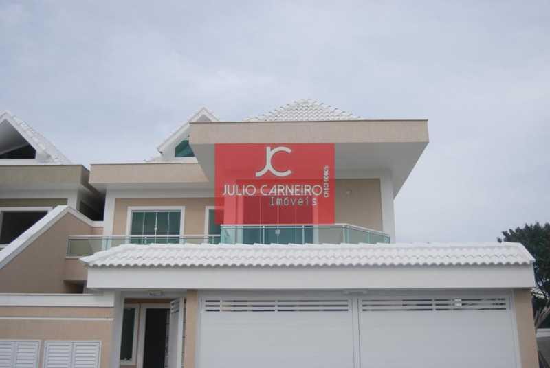 frente - Casa em Condominio À VENDA, Recreio Dos Bandeirante, Rio de Janeiro, RJ - JCCN40021 - 1