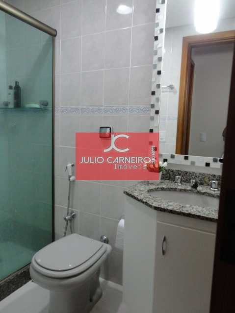 4 - banheiro social - Apartamento À VENDA, Recreio dos Bandeirantes, Rio de Janeiro, RJ - JCAP30100 - 9
