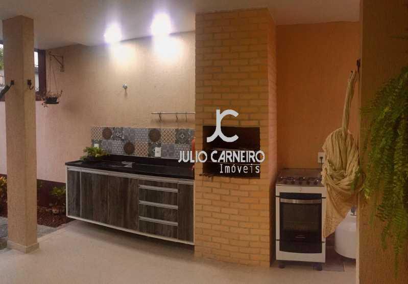 fachada varanda gourmetResulta - Casa À Venda no Condomínio Advanced Residence - Rio de Janeiro - RJ - Vargem Pequena - JCCN50021 - 3