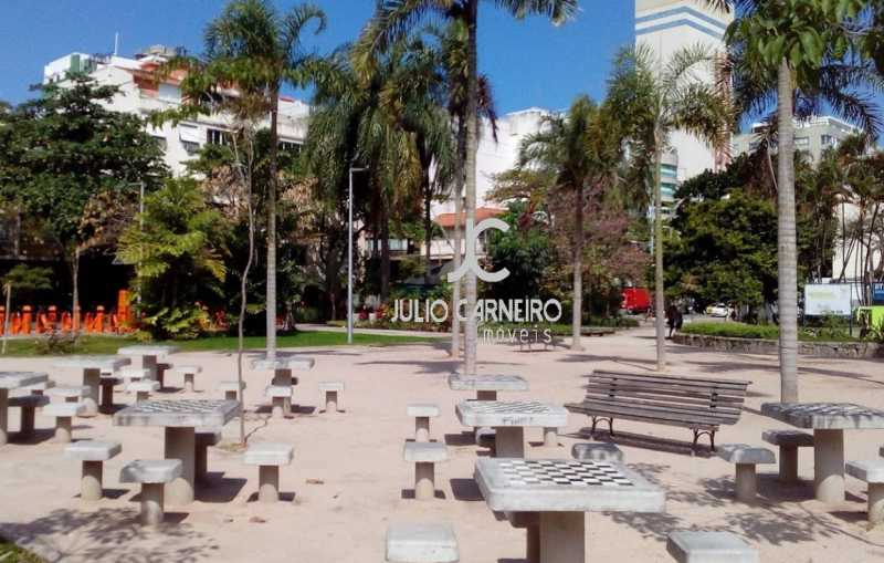 praça anteroResultado - Apartamento Condomínio Juliana, Rio de Janeiro, Zona Sul,Leblon, RJ Para Alugar, 4 Quartos, 205m² - JCAP40042 - 16