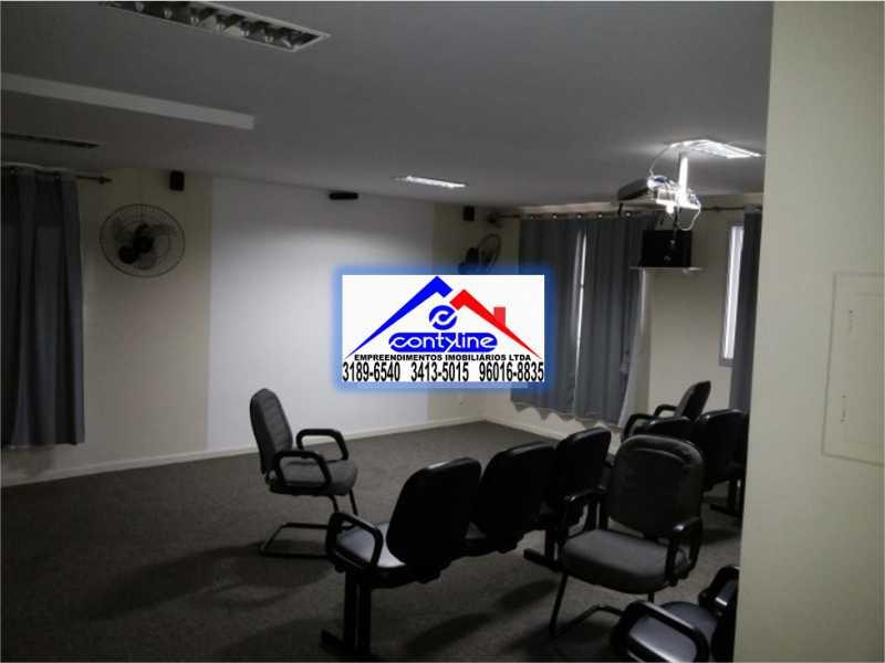 Sala de Projeções - Apartamento 1 Varanda, Sala, 2 Quartos sendo 1 Suíte, Banheiro, Cozinha, Área de Serviço e 1 Vaga na Garagem - Aceita Proposta - Excelente Oportunidade - Venha Fazer Uma Visita - Quem Ver Compra - MAPTV2018 - 6