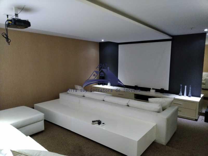 Home Theater - Apartamento Rio de Janeiro,Botafogo,RJ À Venda,3 Quartos,94m² - MSAP30040 - 18