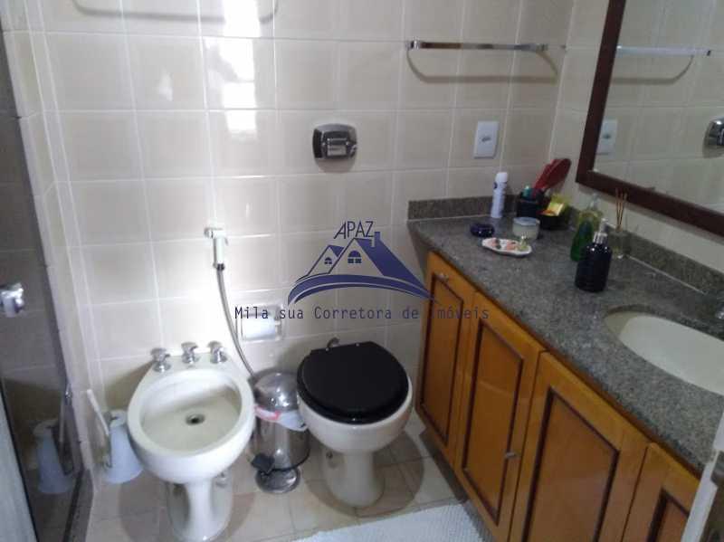 8 laranjeiras - Apartamento 5 quartos à venda Rio de Janeiro,RJ - R$ 1.680.000 - MSAP50003 - 17