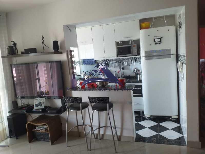 SALA COZINHA - Apartamento À Venda - Rio de Janeiro - RJ - Del Castilho - MSAP20038 - 5