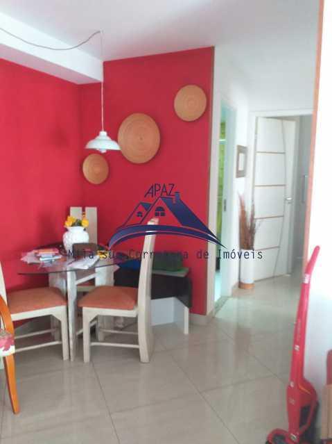 SALA VISÃO ENTRADA - Apartamento À Venda - Rio de Janeiro - RJ - Del Castilho - MSAP20038 - 6