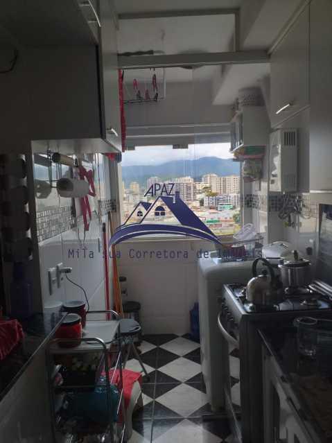 COZINHA VISÃO 2 - Apartamento À Venda - Rio de Janeiro - RJ - Del Castilho - MSAP20038 - 8