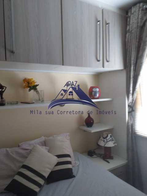 QUARTO 01 - Apartamento À Venda - Rio de Janeiro - RJ - Del Castilho - MSAP20038 - 11