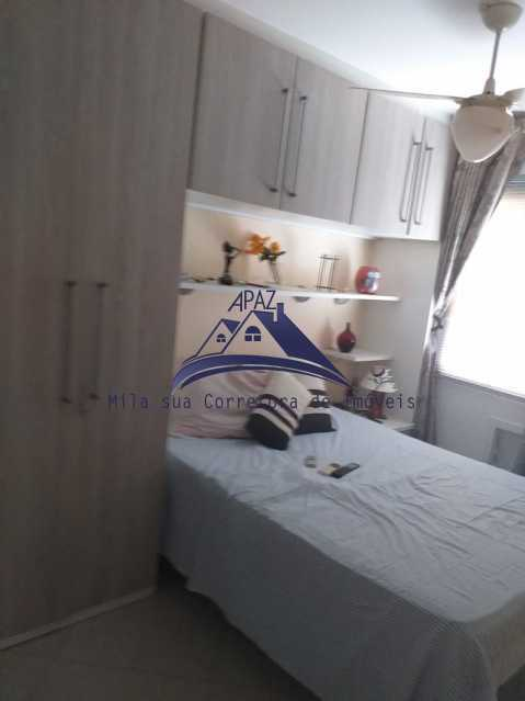 QUARTO 1 2 - Apartamento À Venda - Rio de Janeiro - RJ - Del Castilho - MSAP20038 - 12