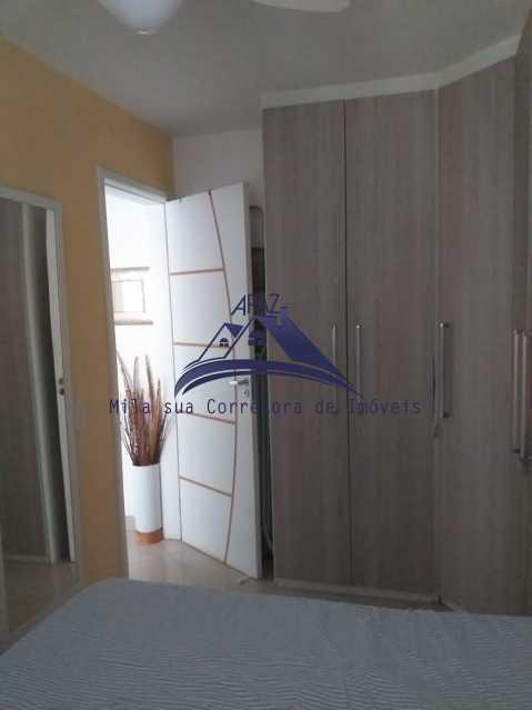 QUARTO 1 - Apartamento À Venda - Rio de Janeiro - RJ - Del Castilho - MSAP20038 - 13