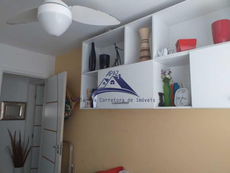 QUARTO 2 VISÃO - Apartamento À Venda - Rio de Janeiro - RJ - Del Castilho - MSAP20038 - 14