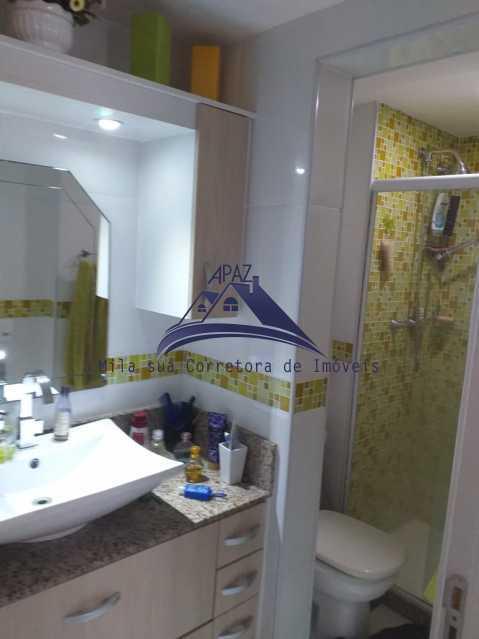 BANHEIRO VISÃO - Apartamento À Venda - Rio de Janeiro - RJ - Del Castilho - MSAP20038 - 18