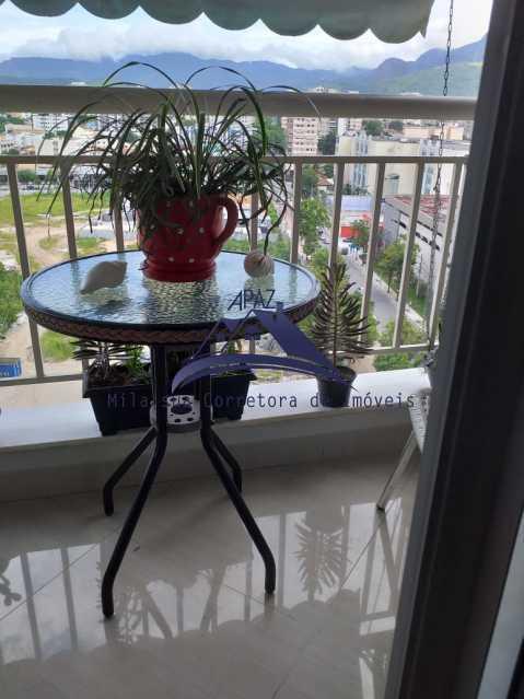 VARANDA - Apartamento À Venda - Rio de Janeiro - RJ - Del Castilho - MSAP20038 - 20