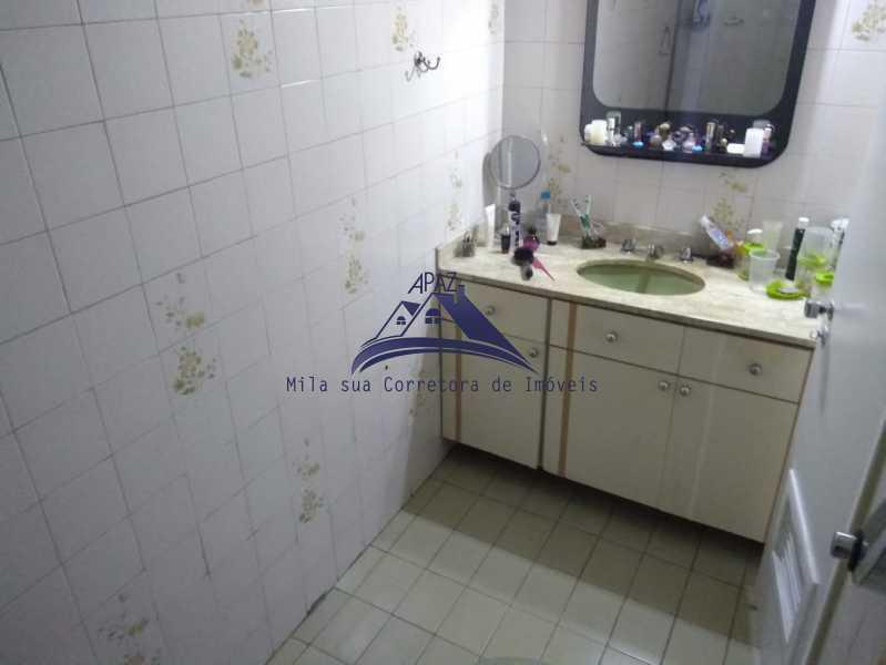 BANHEIRO SOCIAL - Apartamento 3 quartos à venda Rio de Janeiro,RJ - R$ 970.000 - MSAP30048 - 13