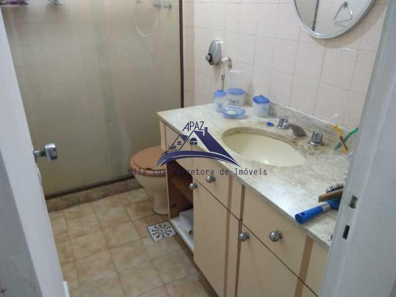 BANHEIRO SUÍTE VISÃO - Apartamento 3 quartos à venda Rio de Janeiro,RJ - R$ 970.000 - MSAP30048 - 10