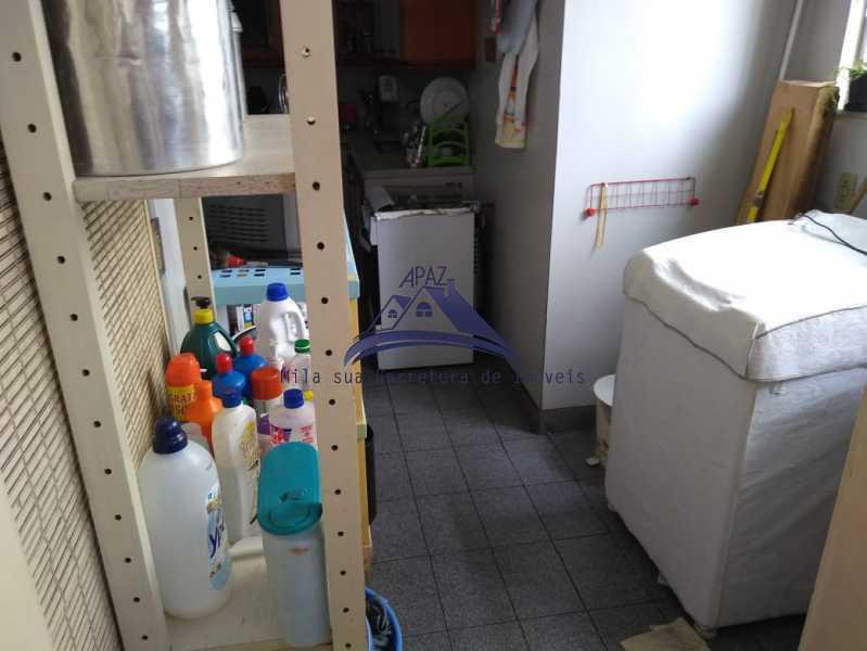 ÁREA SERVIÇO - Apartamento 3 quartos à venda Rio de Janeiro,RJ - R$ 970.000 - MSAP30048 - 15