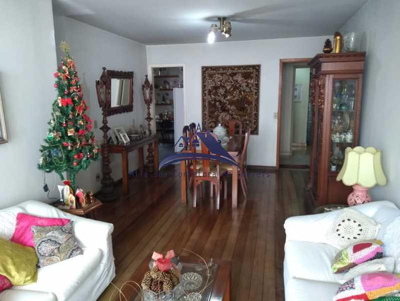 SALA ESTAR E JANTAR - Apartamento 3 quartos à venda Rio de Janeiro,RJ - R$ 970.000 - MSAP30048 - 6