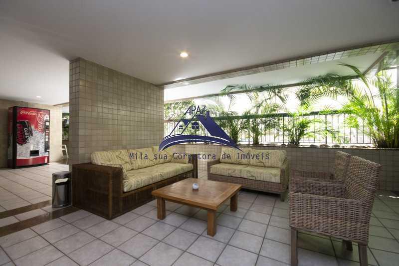 hall de entrada prédio - Apartamento À Venda - Rio de Janeiro - RJ - Leblon - MSAP20039 - 3