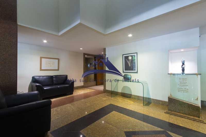 hall entrada 2 - Apartamento À Venda - Rio de Janeiro - RJ - Leblon - MSAP20039 - 4