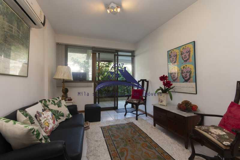 sala de estar - Apartamento À Venda - Rio de Janeiro - RJ - Leblon - MSAP20039 - 5