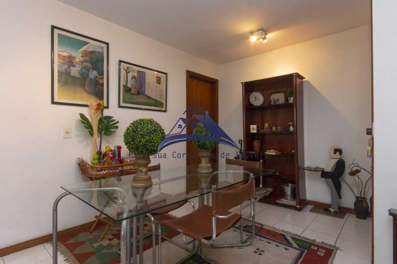 sala de jantar - Apartamento À Venda - Rio de Janeiro - RJ - Leblon - MSAP20039 - 6