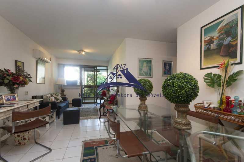 sala estar e jantar - Apartamento À Venda - Rio de Janeiro - RJ - Leblon - MSAP20039 - 7