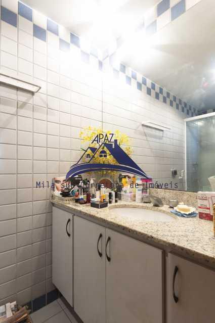 suíte bancada - Apartamento À Venda - Rio de Janeiro - RJ - Leblon - MSAP20039 - 8