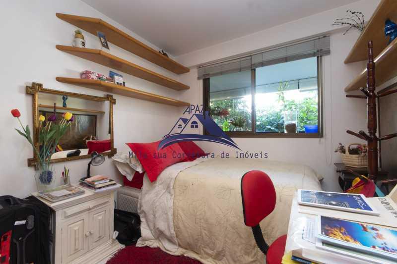quarto 2 - Apartamento À Venda - Rio de Janeiro - RJ - Leblon - MSAP20039 - 12