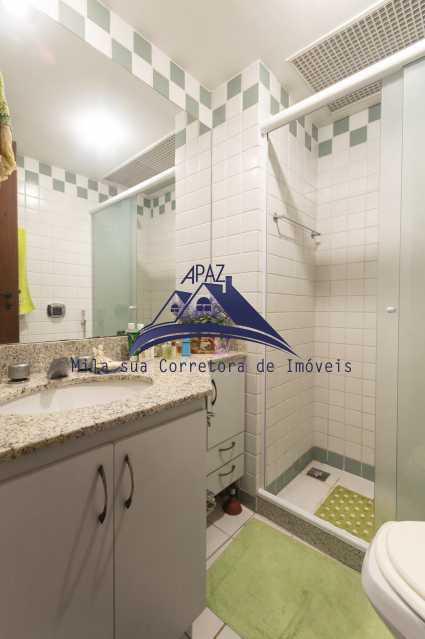 banheiro social - Apartamento À Venda - Rio de Janeiro - RJ - Leblon - MSAP20039 - 13