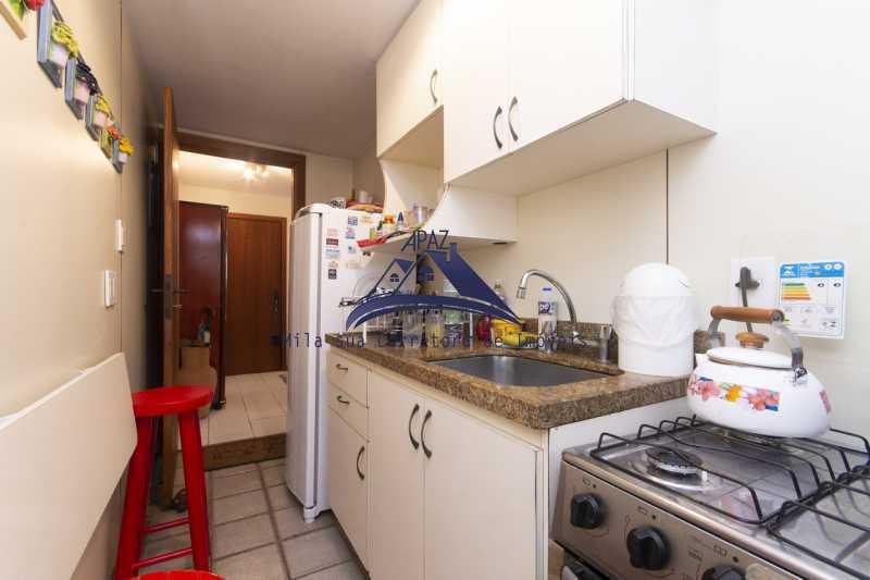 cozinha sala - Apartamento À Venda - Rio de Janeiro - RJ - Leblon - MSAP20039 - 14