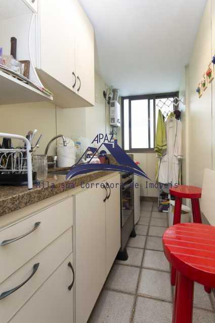 cozinha - Apartamento À Venda - Rio de Janeiro - RJ - Leblon - MSAP20039 - 15