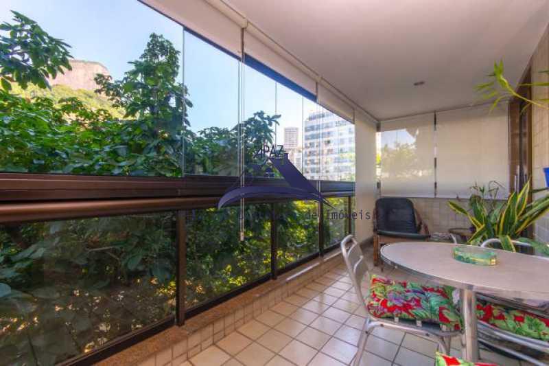 varanda - Apartamento À Venda - Rio de Janeiro - RJ - Leblon - MSAP20039 - 17