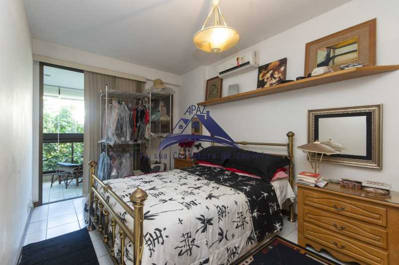quarto com varanda - Apartamento À Venda - Rio de Janeiro - RJ - Leblon - MSAP20039 - 10