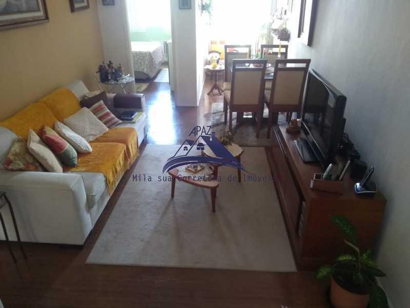 SALA ESTAR E JANTAR - Apartamento 2 quartos à venda Rio de Janeiro,RJ - R$ 580.000 - MSAP20040 - 3