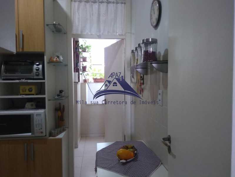 VISÃO COZ ÁREA - Apartamento 2 quartos à venda Rio de Janeiro,RJ - R$ 580.000 - MSAP20040 - 16