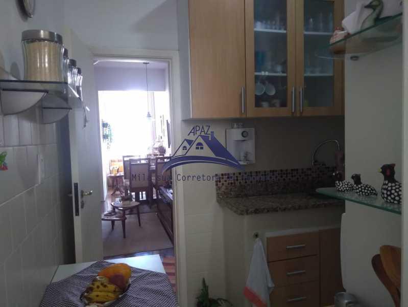 VISÃO COZ SALA - Apartamento 2 quartos à venda Rio de Janeiro,RJ - R$ 580.000 - MSAP20040 - 17