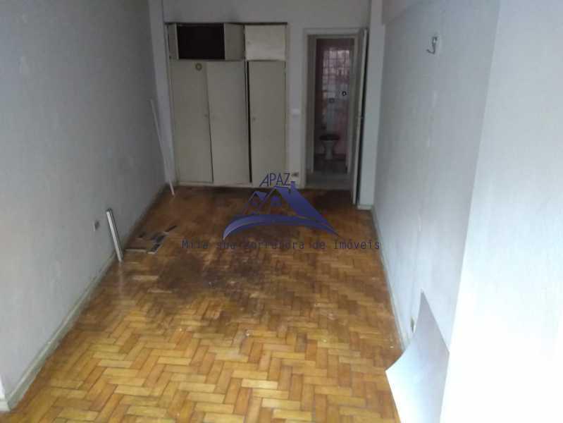 SALA  VISÃO BANHEIRO - Apartamento 1 quarto à venda Rio de Janeiro,RJ - R$ 450.000 - MSAP10017 - 3