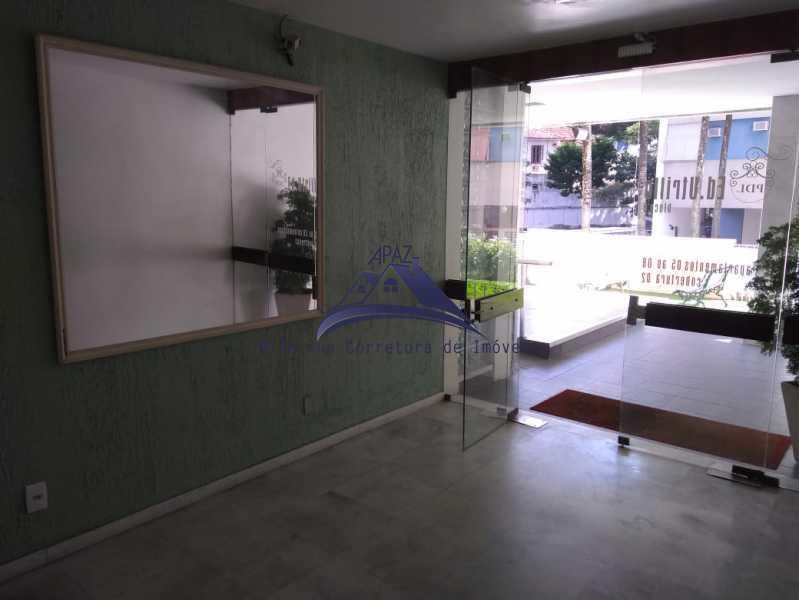 ENTRADA PRÉDIO - Apartamento 2 quartos à venda Rio de Janeiro,RJ - R$ 580.000 - MSAP20046 - 1