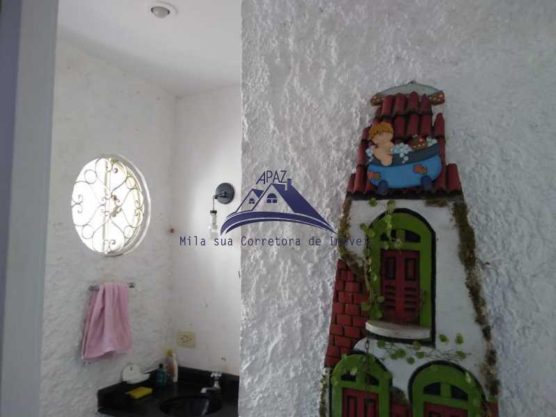 BANHEIRO - Apartamento 2 quartos à venda Rio de Janeiro,RJ - R$ 580.000 - MSAP20046 - 5