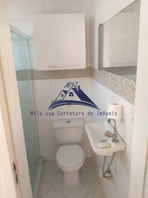 BANHEIRO SOCIAL - Apartamento 3 quartos à venda Rio de Janeiro,RJ - R$ 950.000 - MSAP30053 - 7