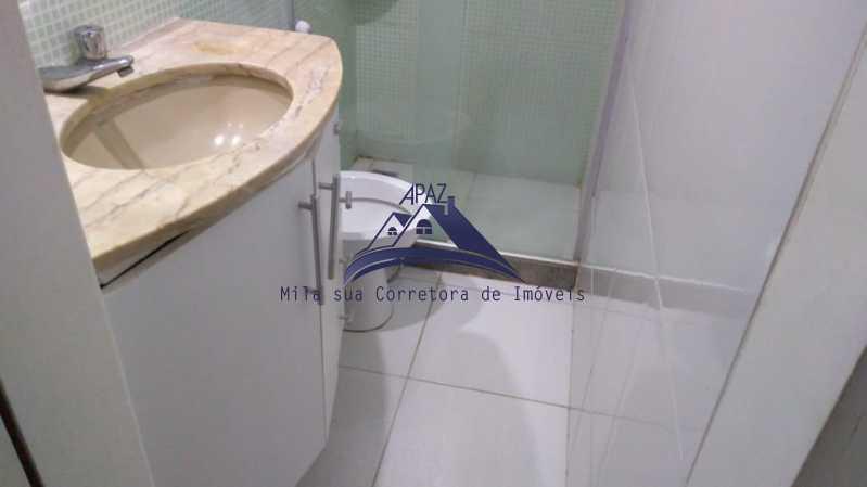 BANHEIRO SOCIAL - Apartamento 3 quartos à venda Rio de Janeiro,RJ - R$ 1.100.000 - MSAP30054 - 8