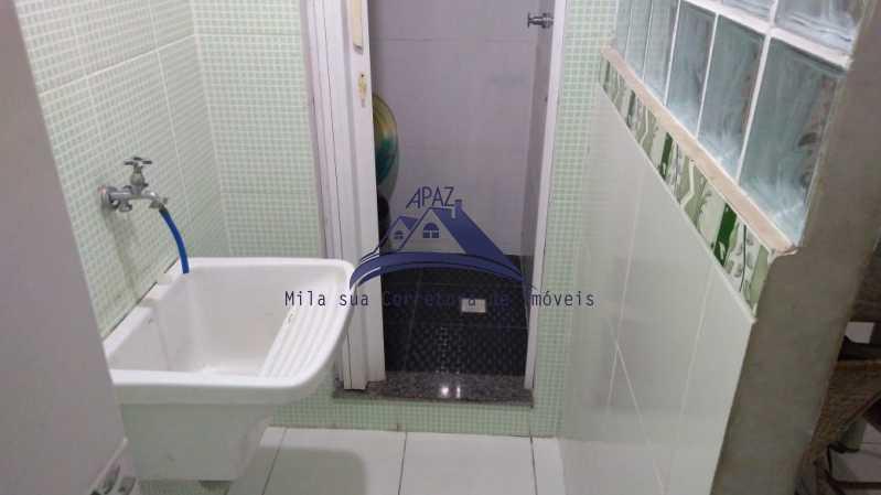 ÁREA SERVIÇO - Apartamento 3 quartos à venda Rio de Janeiro,RJ - R$ 1.100.000 - MSAP30054 - 12