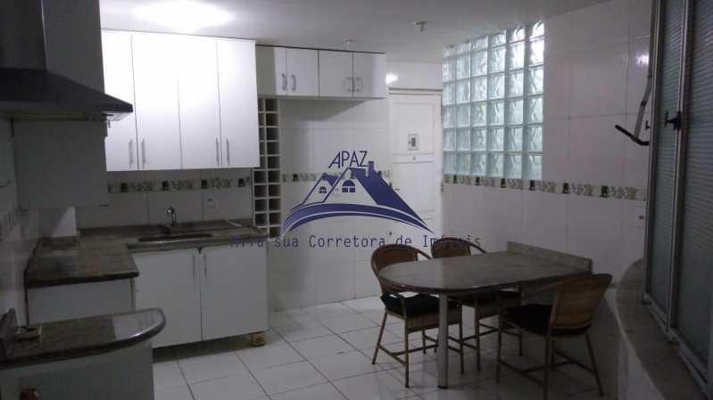 COZINHA AMPLA - Apartamento 3 quartos à venda Rio de Janeiro,RJ - R$ 1.100.000 - MSAP30054 - 10