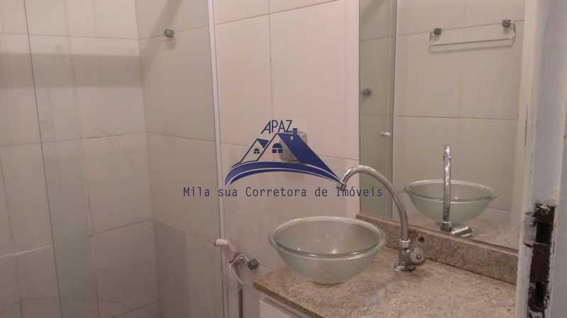 BANHEIRO  - Apartamento 3 quartos à venda Rio de Janeiro,RJ - R$ 1.100.000 - MSAP30054 - 13